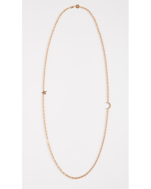 Jennifer Zeuner - Metallic Celia Necklace - Lyst
