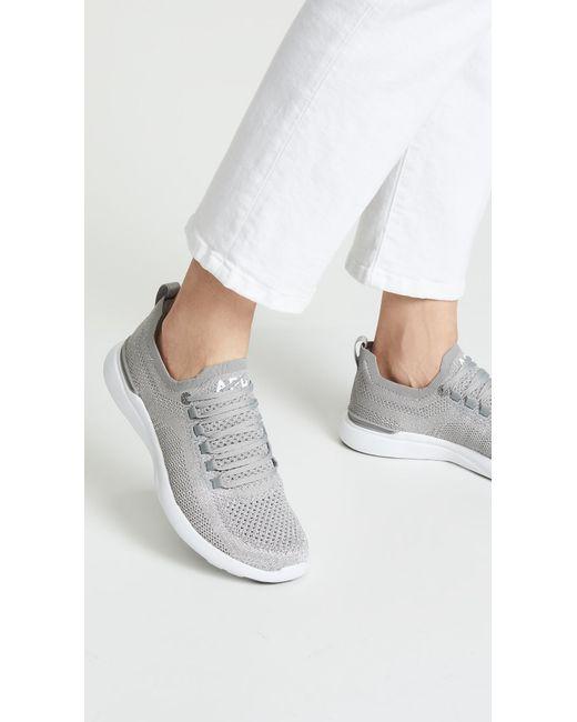 cb7d92e2223c ... Apl: Athletic Propulsion Labs Metallic Techloom Breeze Sneakers ...