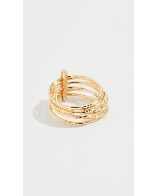 Gorjana - Metallic Josey Ring - Lyst