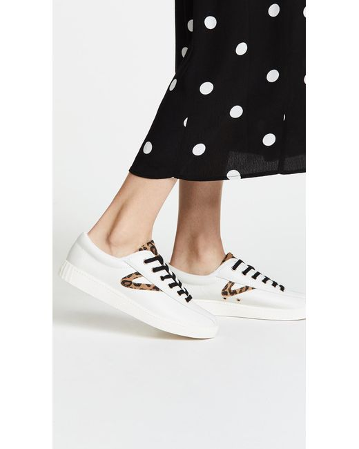 29a0487c3d08 Tretorn Nylite 25 Plus Lace Up Sneakers in White - Save 52% - Lyst