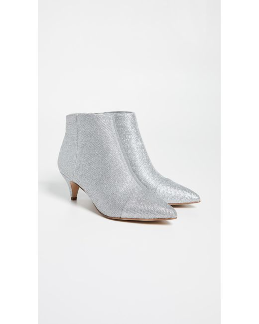 68cc31c9d9cbc Lyst - Sam Edelman Kinzey 2 Booties in Metallic - Save 25%