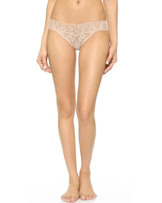 Hanky Panky | Black Signature Lace V-kini Panties | Lyst