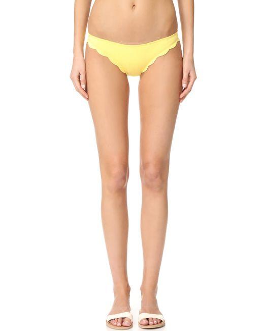 Marysia Swim - Yellow Broadway Bikini Bottoms - Lyst