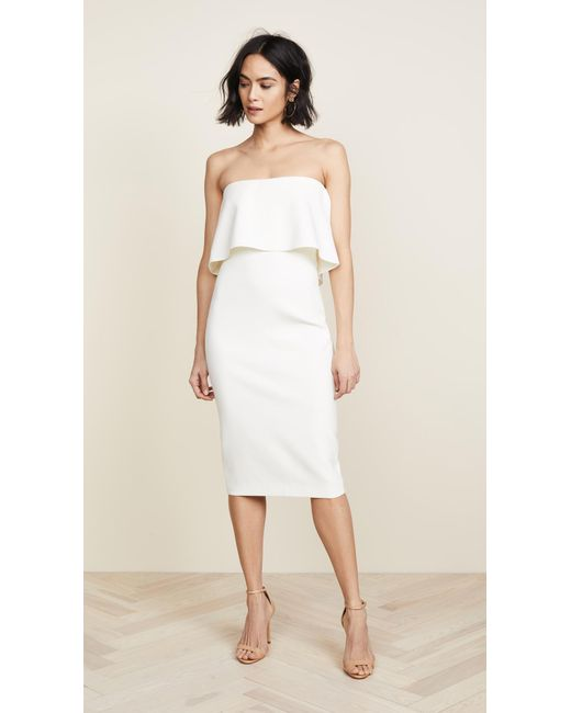 Likely | White Driggs Dress | Lyst