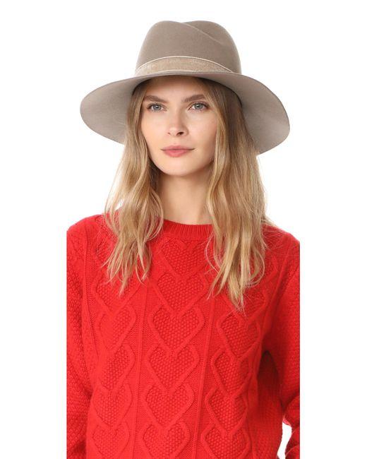 Rag & Bone | Multicolor Zoe Fedora Hat | Lyst