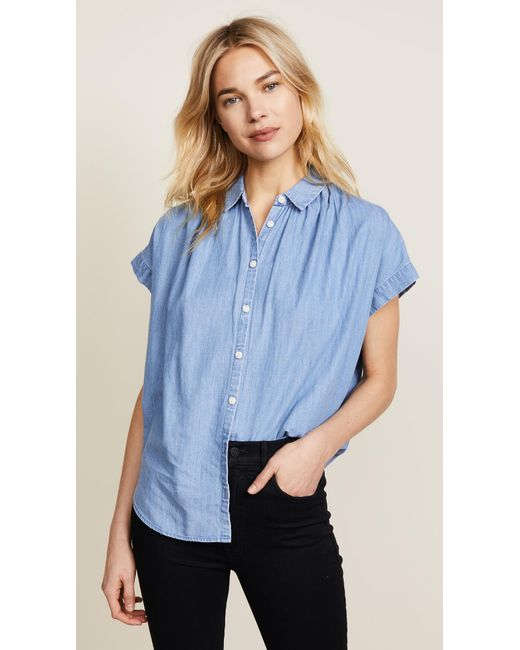 Madewell - Blue New Chambray Central Shirt - Lyst