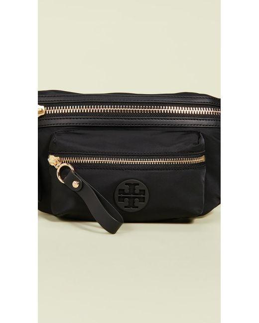 434ef96aaa6f ... Tory Burch - Black Tilda Belt Bag - Lyst ...