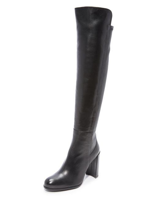 Stuart Weitzman | Black All Jill Knee High Boots | Lyst
