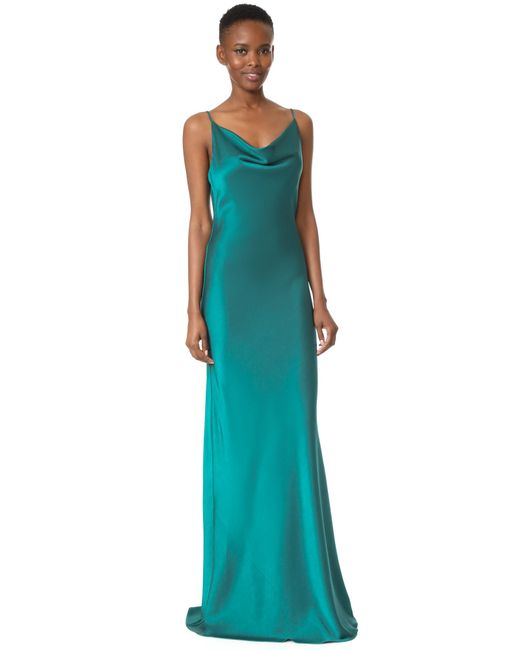 Black Halo | Green Bessette Gown | Lyst
