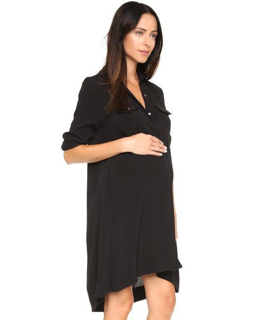HATCH | Black The Shirtdress | Lyst