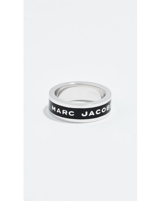 Marc Jacobs - Multicolor Logo Band Ring - Lyst