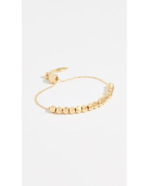 Gorjana - Metallic Laguna Large Adjustable Bracelet - Lyst