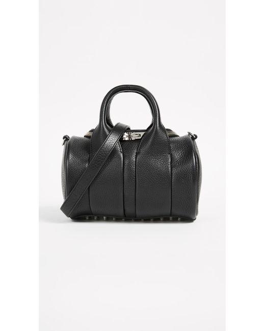 Alexander Wang - Black Mini Rockie Duffel Bag - Lyst