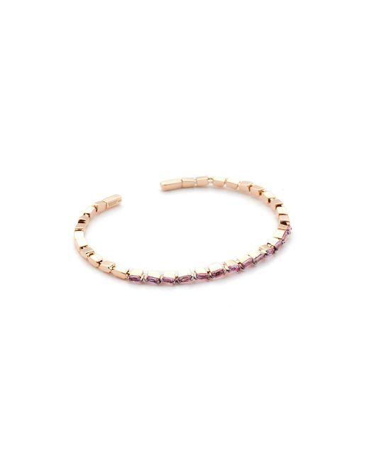 Suzanne Kalan - Fireworks 18k Pink Sapphire Cuff Bracelet - Lyst