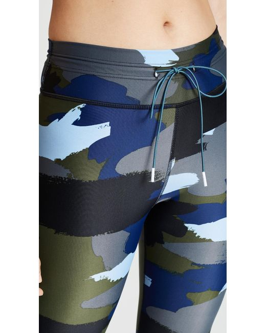 c73a05704d ... The Upside - Blue Abstract Camo Yoga Pants - Lyst ...