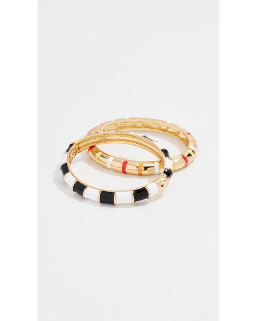 BaubleBar - Metallic Caria Bracelet Set - Lyst