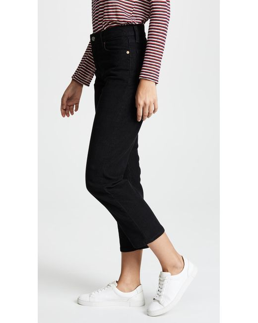 Lyst Levi S Wedgie Corduroy Straight Jeans In Black