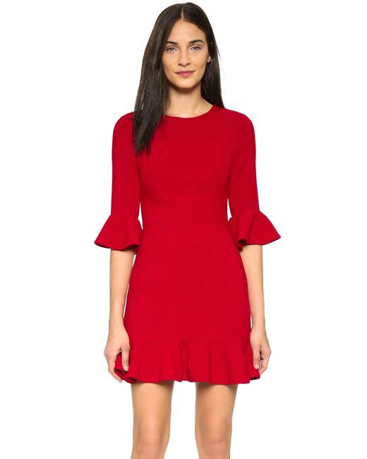 Black Halo | Red Brooklyn Dress | Lyst