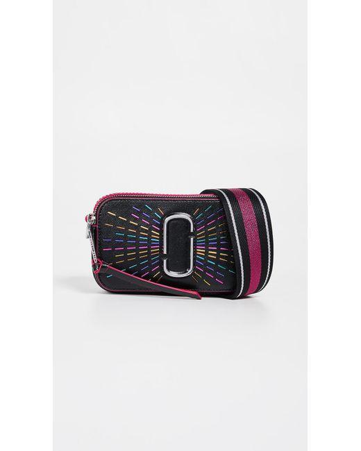 e6bf023417c Marc Jacobs - Black Snapshot Confetti Camera Bag - Lyst ...