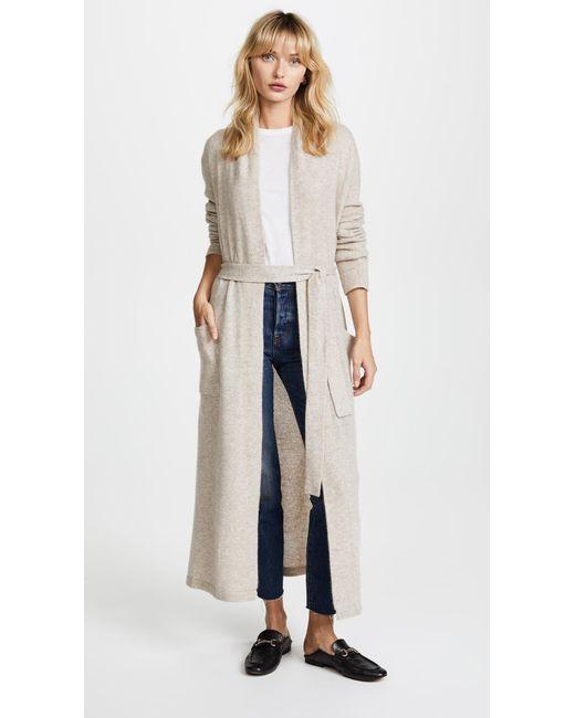 a6595b77013 White + Warren - Multicolor Luxe Cashmere Robe - Lyst ...