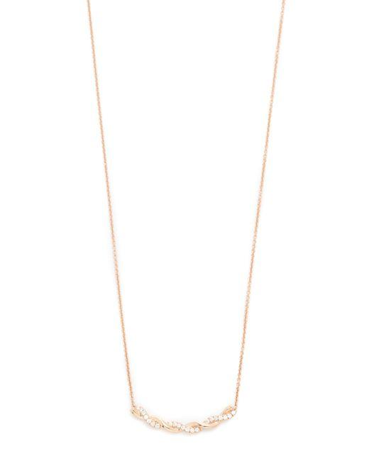 Dana Rebecca | Metallic Carly Brooke Twisted Necklace | Lyst