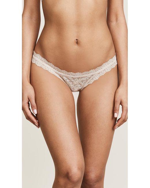 Hanky Panky - Pink Signature Lace Brazilian Bikini - Lyst