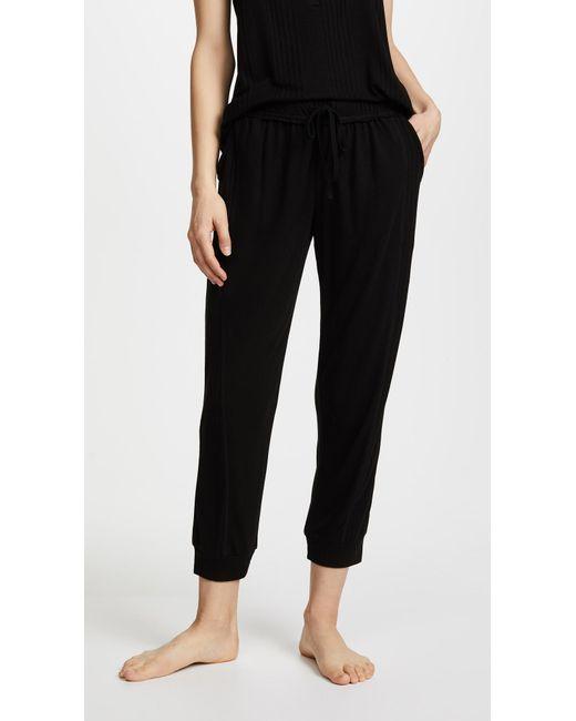 Splendid - Black Always Crop Pants - Lyst