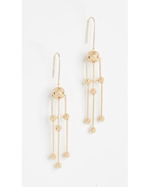 Elizabeth and James | Metallic Kaya Earrings | Lyst