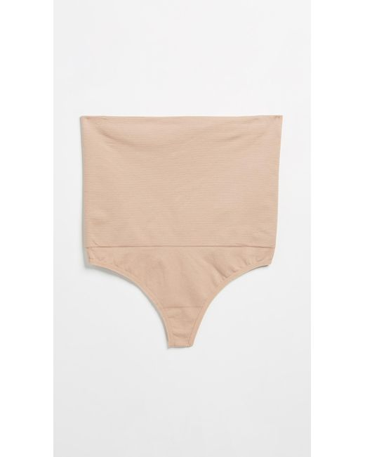 Rosie Pope - Natural Slim & Control Waist Control Thong - Lyst