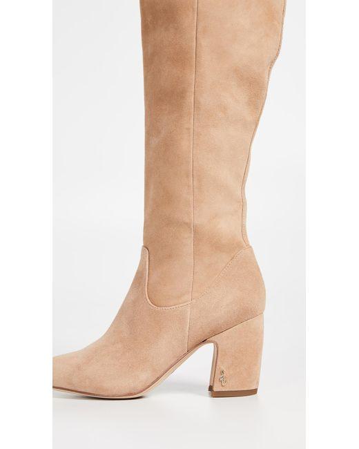 ce9730d9c2d282 ... Sam Edelman - Multicolor Hai Tall Boots - Lyst ...