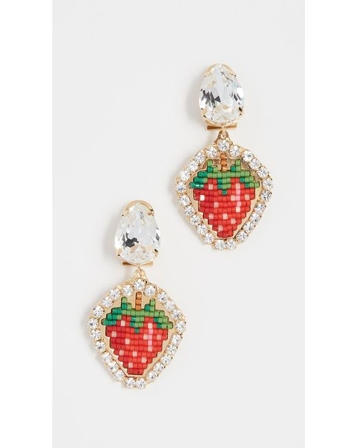Shourouk - Multicolor Lolita Bead Earrings - Lyst