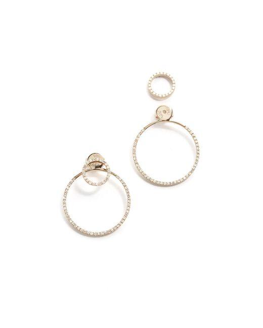 EF Collection | Metallic Diamond Halo Ear Jacket | Lyst