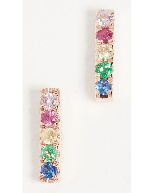 Gabriela Artigas - Metallic 14k Gold Rainbow Stud Earring - Lyst