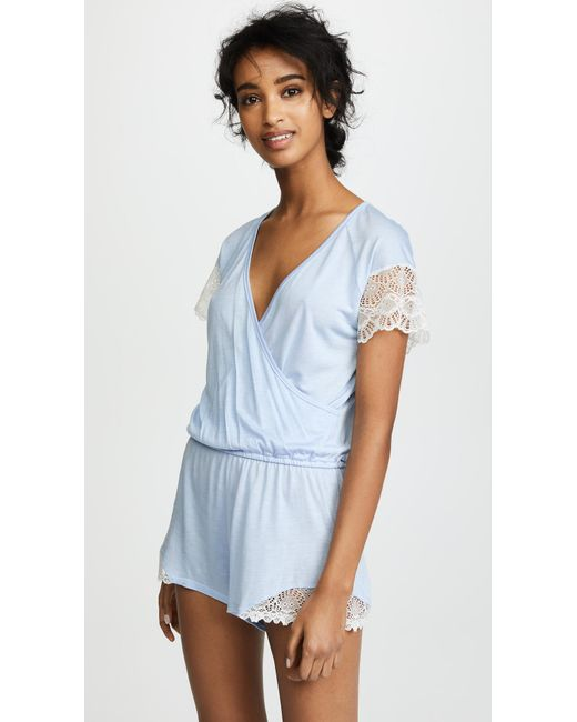 Only Hearts - Something Blue Playsuit - Lyst