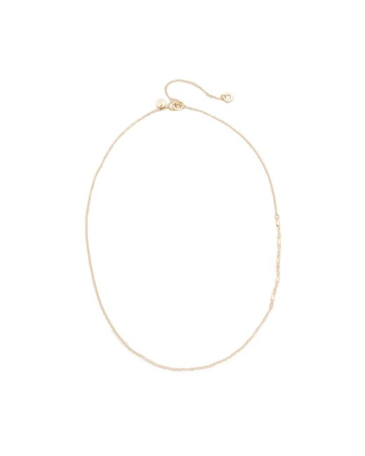 Blanca Monros Gomez | Metallic Chain Lavalier Necklace | Lyst
