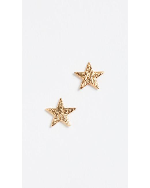Gorjana   Metallic Star Stud Earrings   Lyst