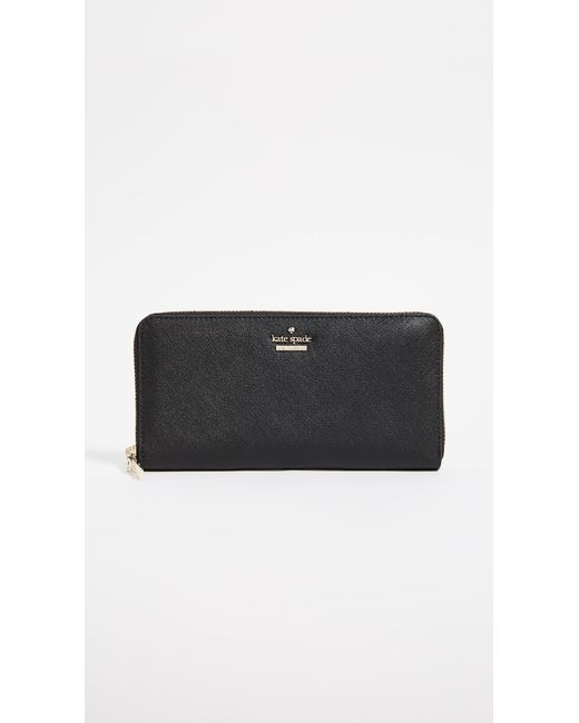 Kate Spade - Black Lacey Wallet - Lyst
