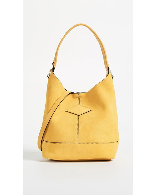 Rag & Bone - Yellow Camden Mini Shopper Bag - Lyst