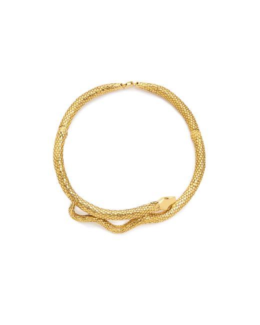Aurelie Bidermann | Metallic Tao Goldplated Snake Necklace | Lyst