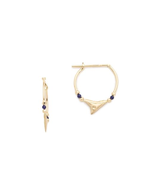 Aurelie Bidermann | Metallic Shark Earrings | Lyst
