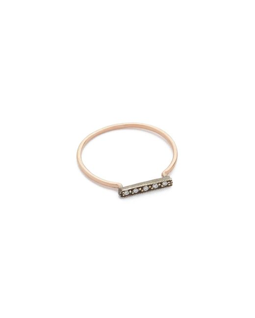 Blanca Monros Gomez | Pink Dainty Stacking Diamond Ring | Lyst