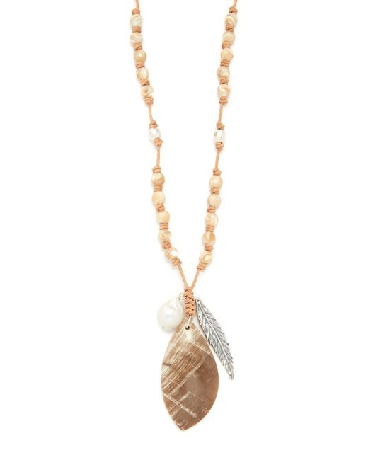 Chan Luu | Metallic Amy Statement Necklace | Lyst