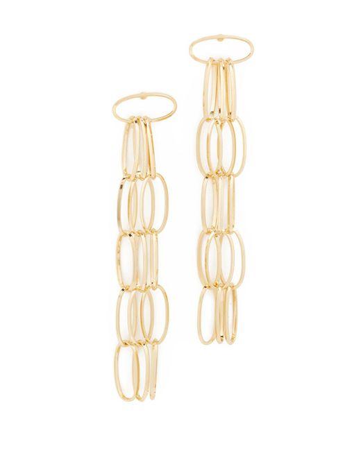 DANNIJO | Metallic Kev Earrings | Lyst