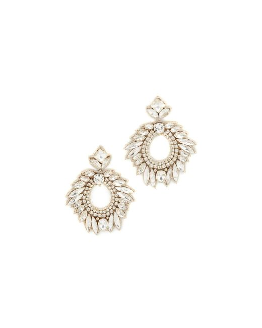 Deepa Gurnani | Metallic Deepa By Lily Earrings | Lyst