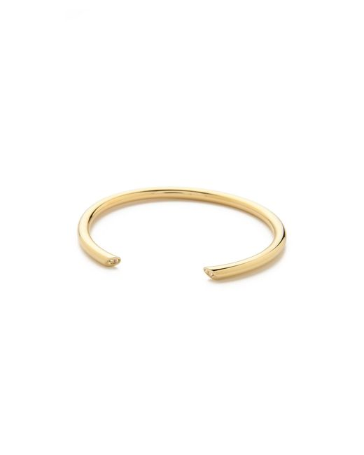 Elizabeth and James | Metallic Obi Bangle Bracelet | Lyst