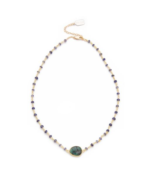 Ela Rae | Green Libi Necklace | Lyst