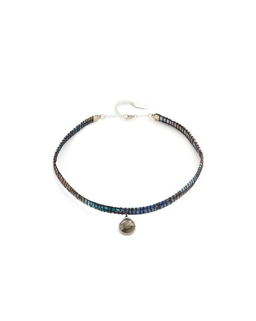 Ela Rae | Green Lela Choker Necklace | Lyst