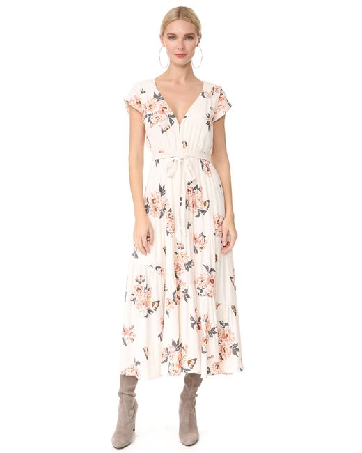 Free People | Multicolor All I Got Maxi Dress | Lyst