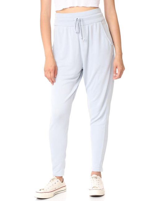 Free People | Gray Movement Yella Harem Joggers | Lyst