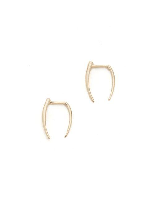 Gabriela Artigas | Metallic Infinite Tusk Earrings | Lyst